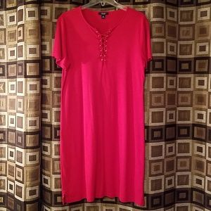 Chaps T-shirt dress